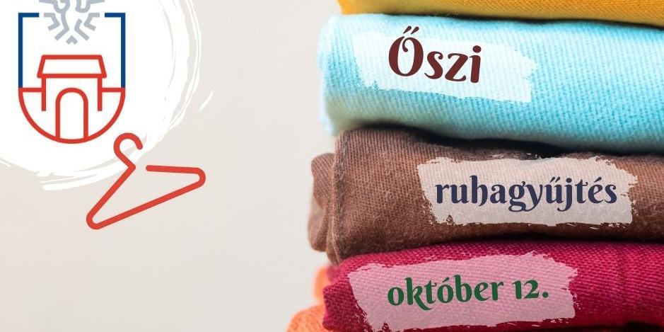 Őszi ruhagyűjtés
