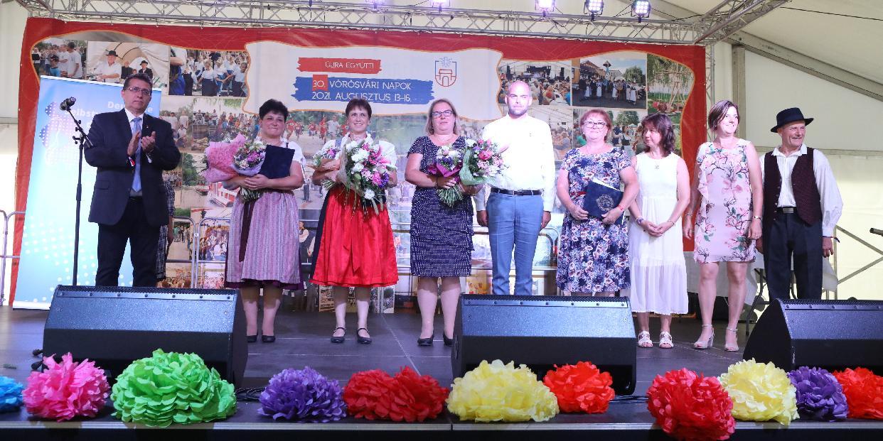 Rangos szakmai díjakat adtak át a Vörösvári Napokon