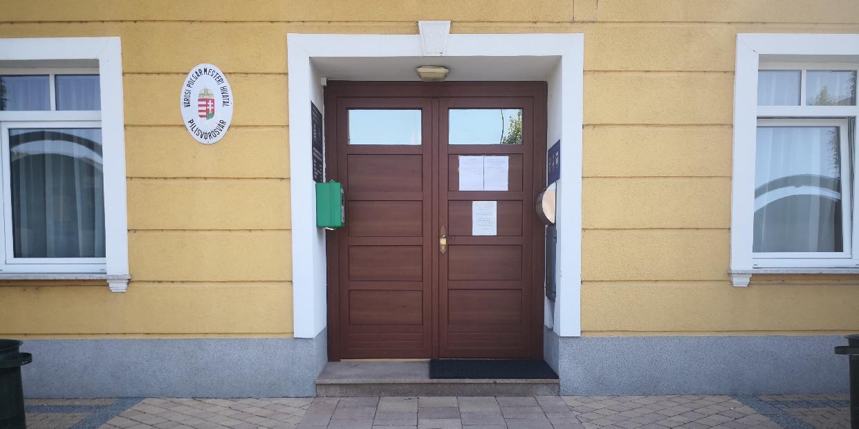 Nyári igazgatási szünet a  Pilisvörösvári Polgármesteri Hivatalban