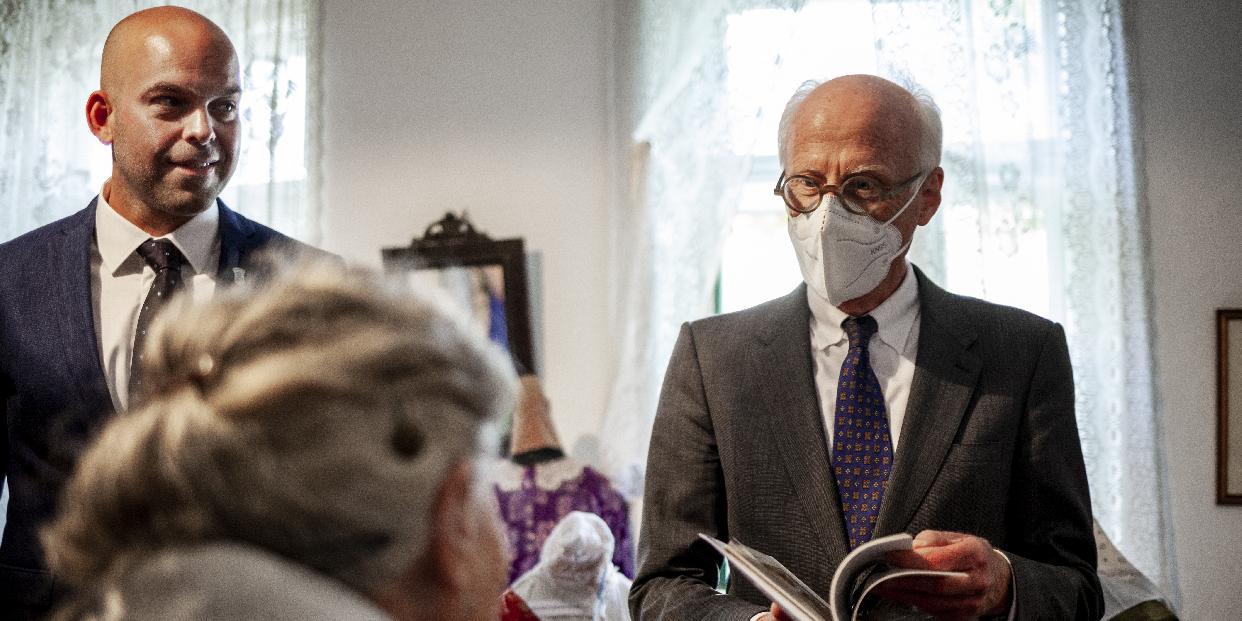 Pilisvörösvárra látogatott a német nagykövet
