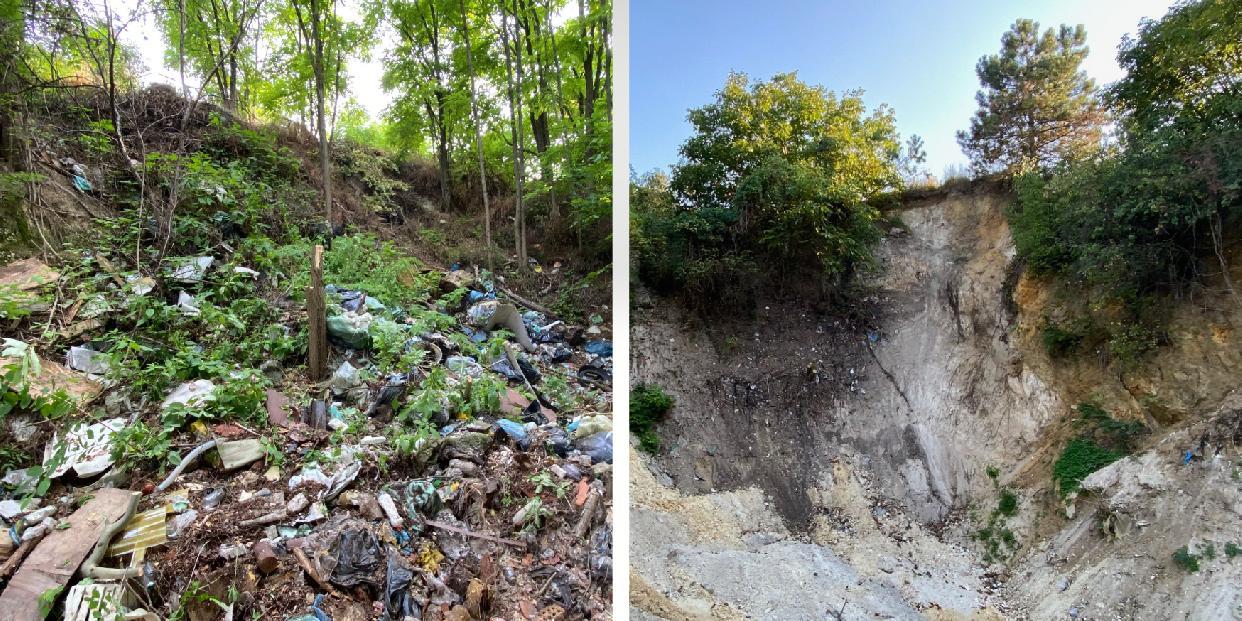 270 köbméter illegális hulladéktól szabadult meg  a Kálvária