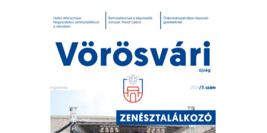 Megjelent a Vörösvári Újság